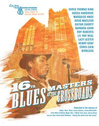 Blue Heaven Studios - Blues Masters at the Crossroads 16 (2013) -  Poster