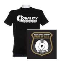 Quality Record Pressings - QRP T-Shirt