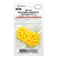 - 45 RPM Record Adapters (pack of 10)