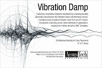 AcousTech - Vibration Dampening Material -  Isolation Devices