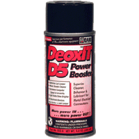 CAIG Laboratories - DeoxIT Power Booster D5 Spray, 5% solution, 200 ml