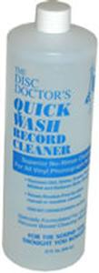 Disc Doctor - Quick Wash No-Rinse Vinyl Cleaning Solution - Quart -  Record Cleaner