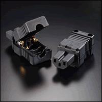 Furutech - FI-15E[G] 24K Gold Plated IEC Connector -  Connectors