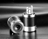 Furutech - FI-50MR Audio Grade Premium Male Power Connector - Rhodium
