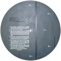 Mobile Fidelity - Geo-Disc Cartridge Alignment Disc