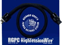 Richard Gray's Power Company - RGPC High Tension Wire 8 gauge 15 amp IEC 2 Meter -  Power Cords