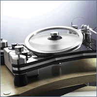 VPI - HR-X Ring Clamp -  Record Mats and Clamps