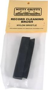 Nitty Gritty - Bristle Brush - Black Nylon -  Record Cleaner