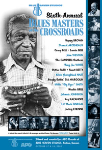 Blue Heaven Studios - Blues Masters at the Crossroads 6  (2003)  Poster