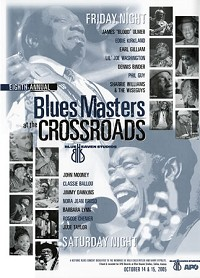 Blue Heaven Studios - Blues Masters at the Crossroads 8 (2005) Poster