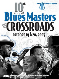 Blue Heaven Studios - Blues Masters at the Crossroads 10 (2007)  Poster
