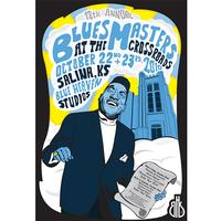 Blue Heaven Studios - Blues Masters at the Crossroads 13 (2010)  Poster -  Poster