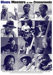 Blue Heaven Studios - Blues Masters at the Crossroads 1  (1998)  Poster