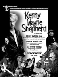 Blue Heaven Studios - Kenny Wayne Shepherd Concert Poster