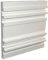 Auralex - Q'Fusor 21 3/4' x21 3/4' x 2 3/4' diffusor panel (White) - Box of 12