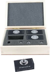 Symposium Acoustics - Rollerblock Series 2+/ Set of 4
