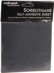 AudioQuest - Sorbothane Self-Stick Sheet -  Isolation Devices