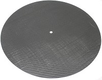 Extreme Phono - Speed Carbon Graphite Turntable Mat -  Record Mats and Clamps