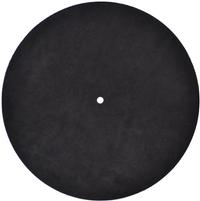 HideInTheSound - Suede Leather Record Mat -  Record Mats and Clamps