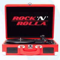 Rock 'N' Rolla - Junior Portable Briefcase Vinyl Turntable