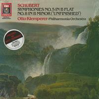 Klemperer, Philharmonia Orchestra - Schubert: Symphony Nos. 5 & 8
