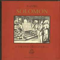 Sir Thomas Beecham/ RPO - Handel: Solomon