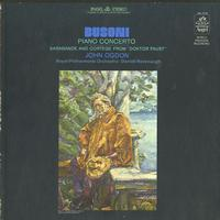 Ogdon, Revenaugh, Royal Philharmonic Orchestra - Busoni: Piano Concerto etc.