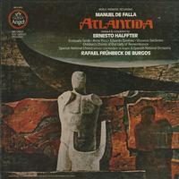 Tarres, Fruhbeck de Burgos, Spanish National Orchestra - De Falla: Atlantida -  Preowned Vinyl Box Sets