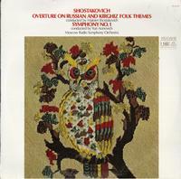 M. Shostakovich, Aranovich, Moscow Radio Symphony Orchestra - Shostakovich: Overture On Russian and Kirghiz Folk Themes & Symphony No. 1