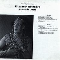 Elizabeth Rethberg - Arias and Duets