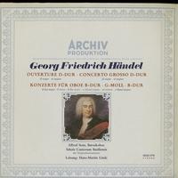 Sous, Linde, Schola Cantorum Basiliensis - Handel: Ouverture D-Dur, Concerto Grosso D-Dur, Konzerte Fur Oboe B-Dur, G-Moll B-Dur