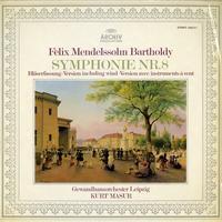 Masur, Gewandhaus Orchestra, Leipzig - Bartholdy: Symphonie Nr. 8