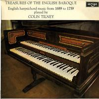 Colin Tilney - Treasures of the English Baroque - English Harpsichord Music from 1689 to 1759