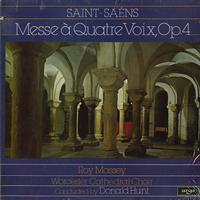 Hunt, Worcester Cathedral Choir - Saint-Saens: Messe A Quatre Voix