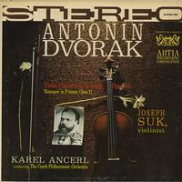 Suk, Ancerl, The Czech Philharmonic Orchestra - Dvorak: Violin Concerto in A minor etc.