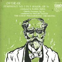 Talich, Czech Philharmonic Orchestra - Dvorak: Symphony No. 3