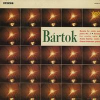 Andre Gertler and Diane Andersen - Bartok: Sonata for Violin and Piano No. 2 etc.