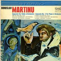 Belcik, Neumann, Prague Symphony Orchestra - Martinu: Concerto for Violin and Orchestra etc.