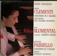 Felicja Blumental, Alberto Zedda, Torino SO - Piano Concertos: Clementi--Paisiello