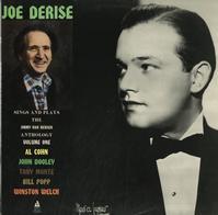 Joe Derise - Joe Derise Sings And Plays The Jimmy Van Heusen Anthology Volume 1