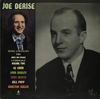 Joe Derise - Joe Derise Sings And Plays The Jimmy Van Heusen Anthology Volume 2