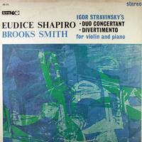 Eudice Shapiro and Brooks Smith - Stravinsky: Duo Concertant etc.