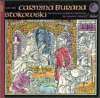 Stokowski, Houston Symphony Orchestra - Orff: Carmina Burana