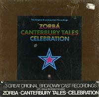 Original Cast Recording - Zorba, Canterbury Tales, Celebration box set