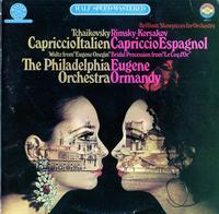 Eugene Ormandy , Philadephia Orchestra - Tchaikovsky: Capriccio Italien, Rimsky-Korsakov: Capriccio Espagnol