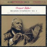 Walter, Columbia Symphony Orchestra-Brahms: Symphony No.4 in E minor