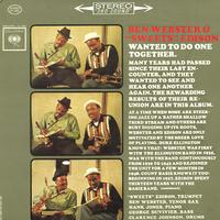 Ben Webster and Harry 'Sweets' Edison - Wanted To Do One Together -  Preowned Vinyl Record