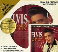 Elvis Presley - 24 Karat Hits -  Preowned Gold CD