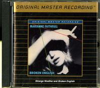 Marianne Faithfull - Broken English - Strange Weather -  Preowned Gold CD