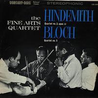 The Fine Arts Quartet - Hindemith: Quartet No. 3 etc.